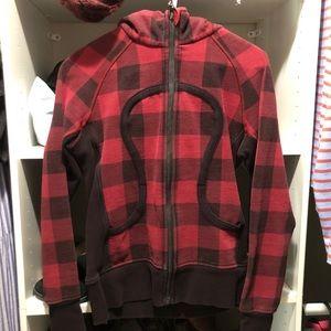 Lululemon lumberjack scuba hoodie